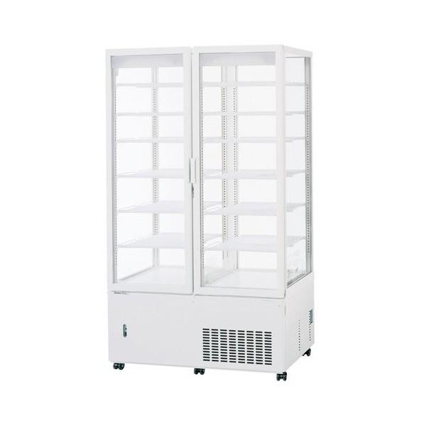 パナソニック タテ型冷蔵ショーケース SSR-561N 4面ガラスタイプ スイング扉