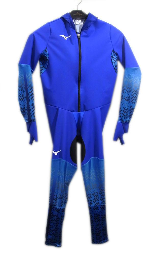 mizuno(ミズノ) ジュニア スピードスケートワンピース (72)ブルー Z2JH8802