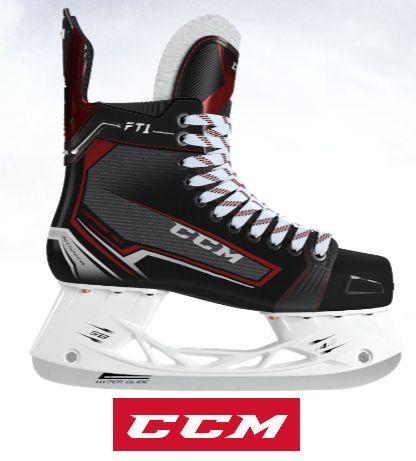 CCM(シーシーエム) JETSPEED FT1SR (ジェットスピード FT1シニア) アイスホッケースケート靴
