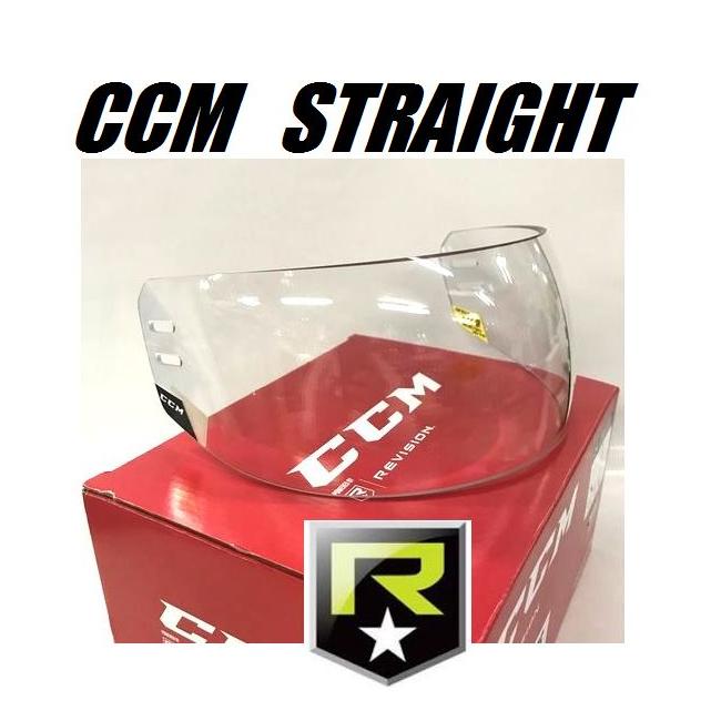 【送料無料】 CCM アイスホッケー ハーフバイザー VR24 【STRAIGHT】 ストレート フェイスガード