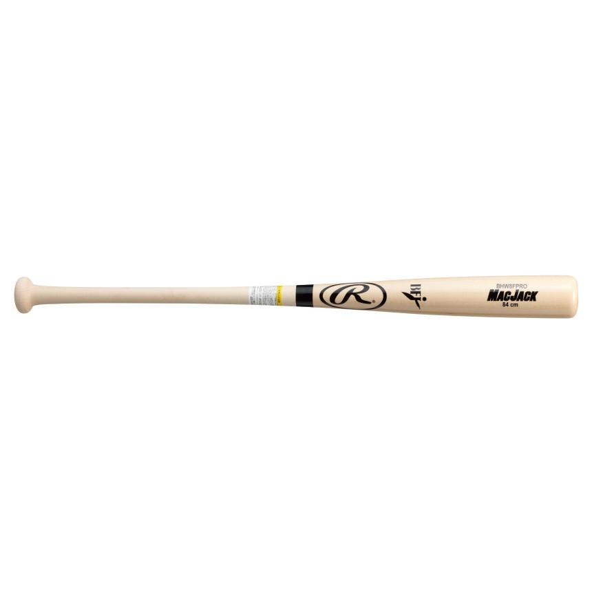 Rawlings(ローリングス) 一般硬式木製バット MAC JACK(メイプル JAPAN) K型 ナチュラル BHW8FPRO