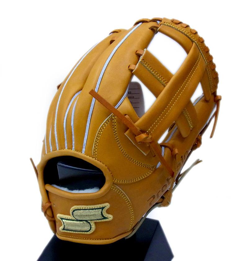 【限定商品】 SSK(エスエスケイ) 一般硬式グラブ プロブレイン 内野手用 右投げ用 (44)Mブラウン PME65