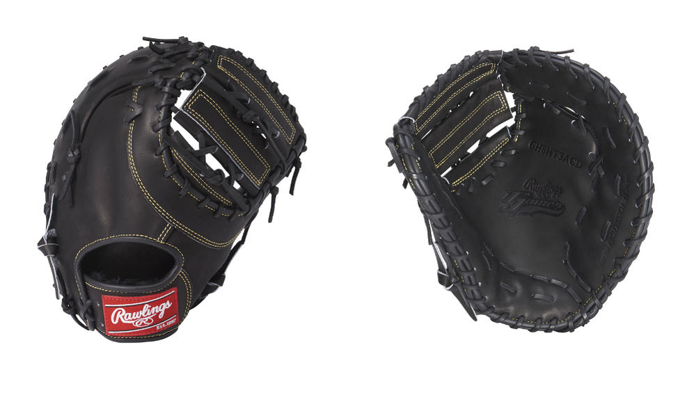 Rawlings(ローリングス) 一般硬式ファーストミット ローリングスゲーマー 一塁手用 右投げ用 ブラック GH8G3ACD (硬式ミット)
