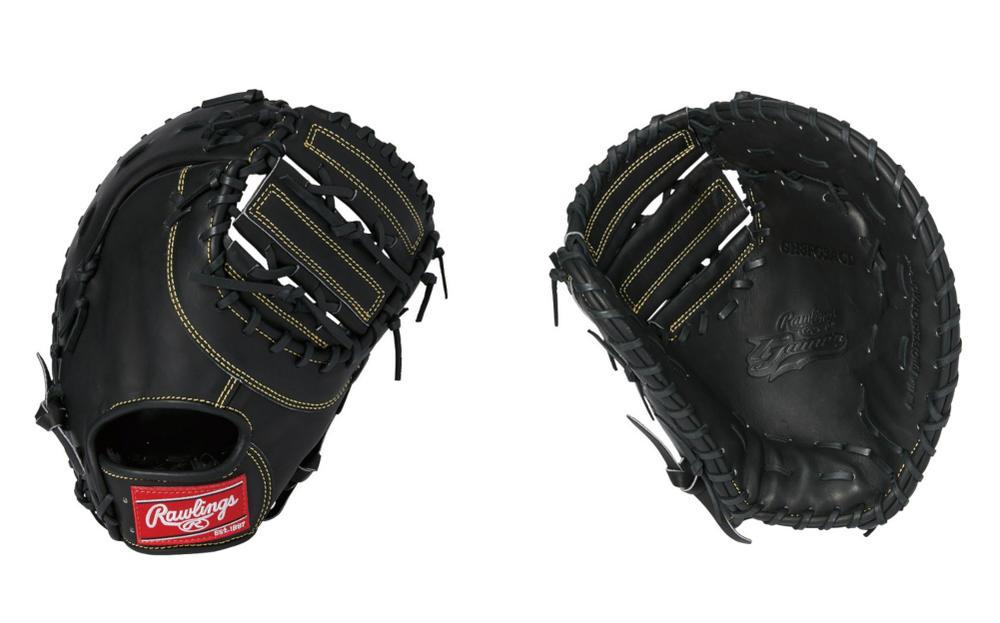 Rawlings(ローリングス) 一般硬式ファーストット ローリングスゲーマー 一塁手用 右投げ用 ブラック GH8FG3ACD