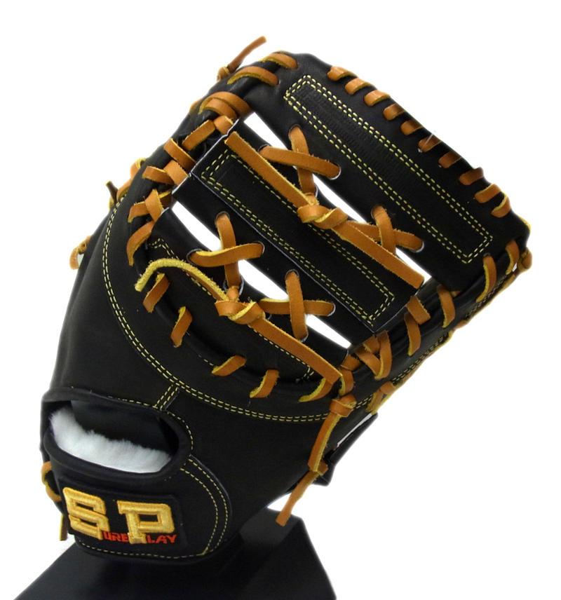 SUREPLAY(シュアプレイ) 一般硬式ファーストミット α STORONG 一塁手用 右投げ用 (BK) SBF-BP380