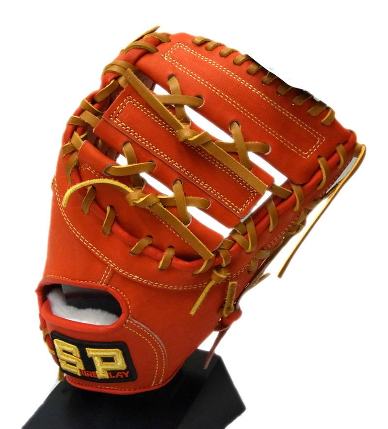 SUREPLAY(シュアプレイ) 一般硬式ファーストミット α STORONG 一塁手用 右投げ用 (ROR) SBF-BP380