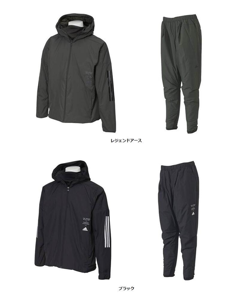 adidas(アディダス) MIDウインドハイブリッドジャケット&パンツ 上下セット 【FYK25】【FYK26】