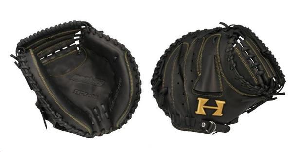 HI-GOLD(ハイゴールド) 少年軟式用キャッチャーミット ルーキーズ 右投げ用 ブラック RKG-191M (少年軟式ミット)