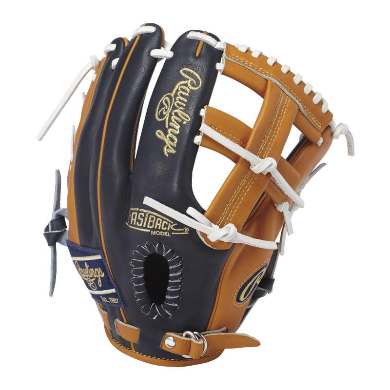 Rawlings(ローリングス) 一般軟式グラブ HOHカラーシンクパッチJapan Limited Order Quality オールラウンド用 右投げ用 (N/RT)GR7FHHS56