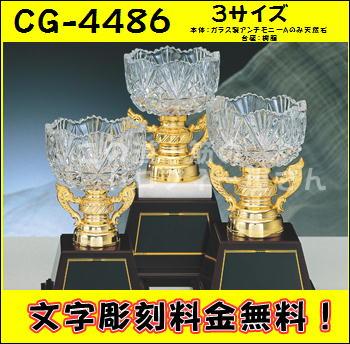 【送料無料】優勝カップ24.5cm(ガラス製:CG4486A)★文字彫刻無料★リボン代込★【大理石付】