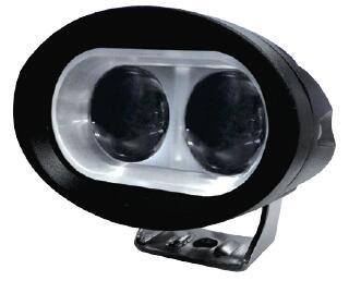 LEDヘッドライト(作業灯)青色/集光12-48Vマルチ電源 20W