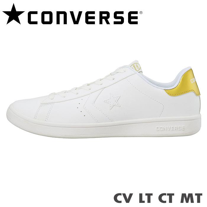 コンバース スニーカー CV LT CT MT ホワイト ゴールドAj453RL