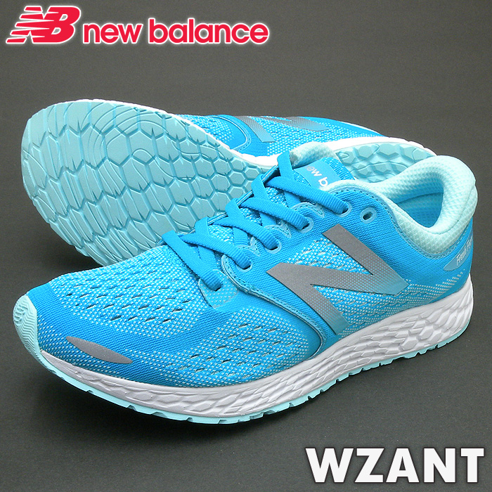 ニューバランス スニーカー WZANT ブルー/ホワイト HB3 靴幅:B レディースジョギングランニングシューズ PSsale
