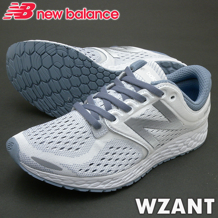 ニューバランス スニーカー WZANT ホワイト/グレー HW3 靴幅:B レディースジョギングランニングシューズ PSsale