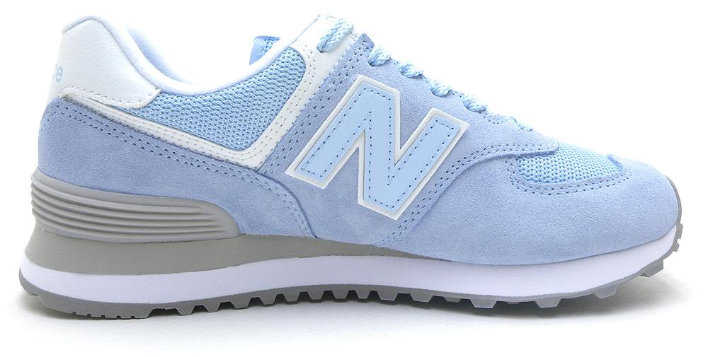 NB ニューバランス スニーカー WL574 ESC ライト ブルー 靴幅:B レディース ジョギング ランニング ウォーキング 女性用 シューズ パステルカラー【ラッキーシール対応】