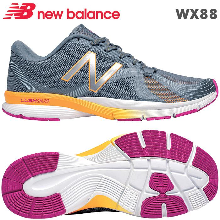 ニューバランス スニーカー WX88 グレー GI 靴幅 D フィットネス、テニスhxBtCQsord