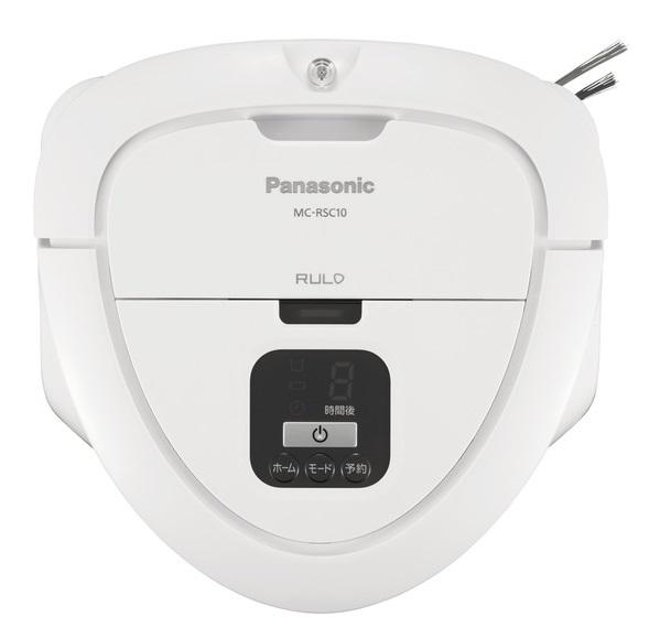 (2月25日発売予定・代引不可)パナソニック ロボット掃除機 RULO(ルーロ) mini MC-RSC10-W ホワイト (C)