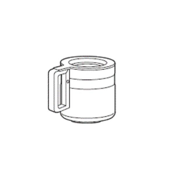 納期未定 即出荷 代引不可 ツインバード ガラスサーバー サーバー蓋なし 6カップ用 A 全自動コーヒーメーカー 199841 正規逆輸入品 CM-D465 アフターパーツ