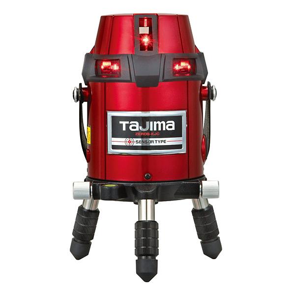 見事な (送料無料(一部地域除く)・)TAJIMA(タジマ) レーザー墨出し器 ゼロセンサーKJC ZEROS-KJC (L):プロショップシミズ-DIY・工具