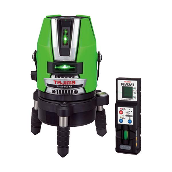(送料無料(一部地域除く)・代引不可)TAJIMA(タジマ) レーザー墨出し器 グリーンレーザー ZERO G NAVIゼロジーKJY 本体のみ ZEROGN-KJY (L)