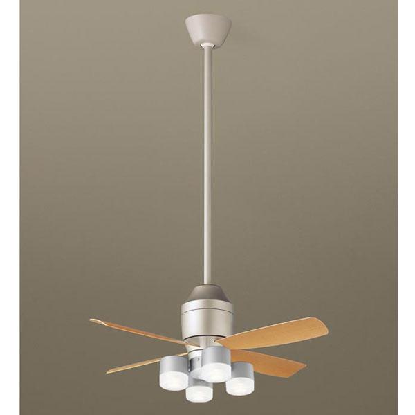 (代引不可)パナソニック シーリングファン 直付吊下型 LED パイプ長さ900mm XS72126 (E)