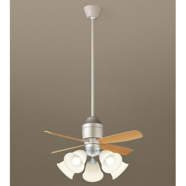 【代引不可】★パナソニック シーリングファン 直付吊下型 LED パイプ長さ900mm XS77141【E】