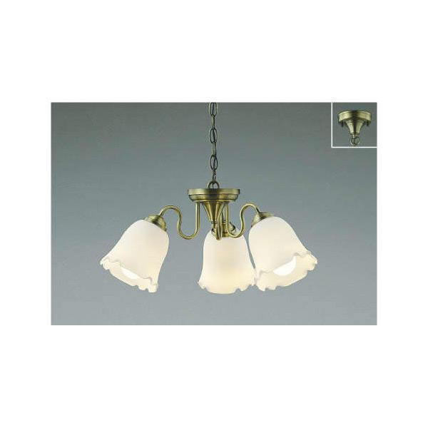 (代引不可)コイズミ照明 AP39967L 小型シャンデリア LED(電球色) (A)