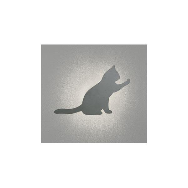 (代引不可)オーデリック OG254642 LED屋外用ブラケット(電球色) 猫・ねこ・ネコ (E)