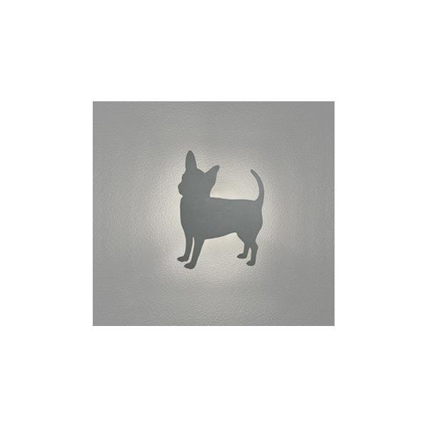 (代引不可)オーデリック OG254648 LED屋外用ブラケット(電球色) チワワ風 犬・いぬ・イヌ (E)
