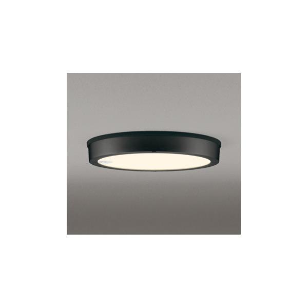 (6月下旬以降発送予定・代引不可)オーデリック OG254816 LED軒下用シーリングライト(電球色) センサー付 (A)