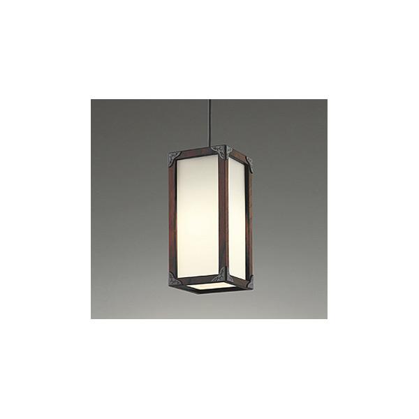 (送料無料(一部地域除く)・代引不可)オーデリック OP252029LD 和風小型ペンダントライト LED(電球色) (L)