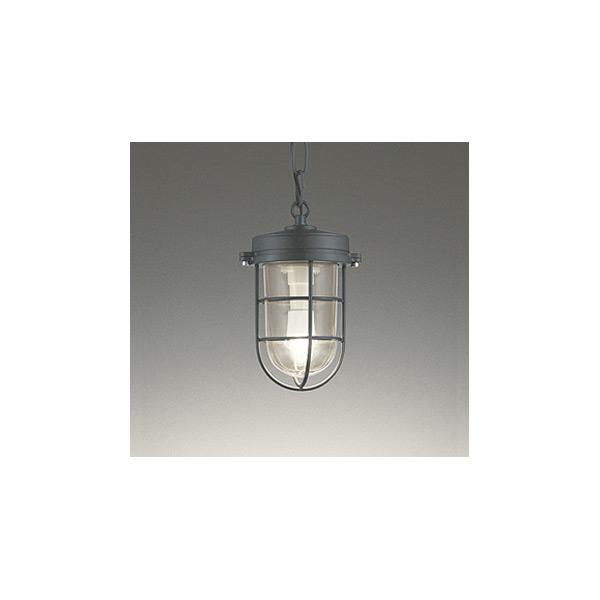 (代引不可)オーデリック OP252409LD LED軒下用ペンダントライト(電球色) (B)
