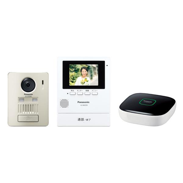 (代引不可)パナソニック モニター壁掛け式ワイヤレステレビドアホンキット VL-SGZ30K (A)
