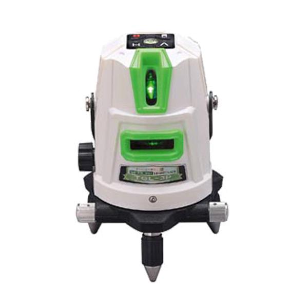 【時間指定不可】 (L):プロショップシミズ (送料無料(一部地域除く)・)高儀 HUT グリーンレーザー墨出し器 TGL-3P(受光器・三脚・ケース付) 1V1H1D2P-DIY・工具