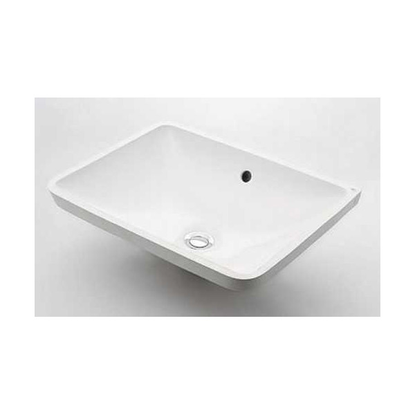 (送料無料(一部地域除く)・代引不可)カクダイ アンダーカウンター式洗面器 #DU-0305490000 (L)