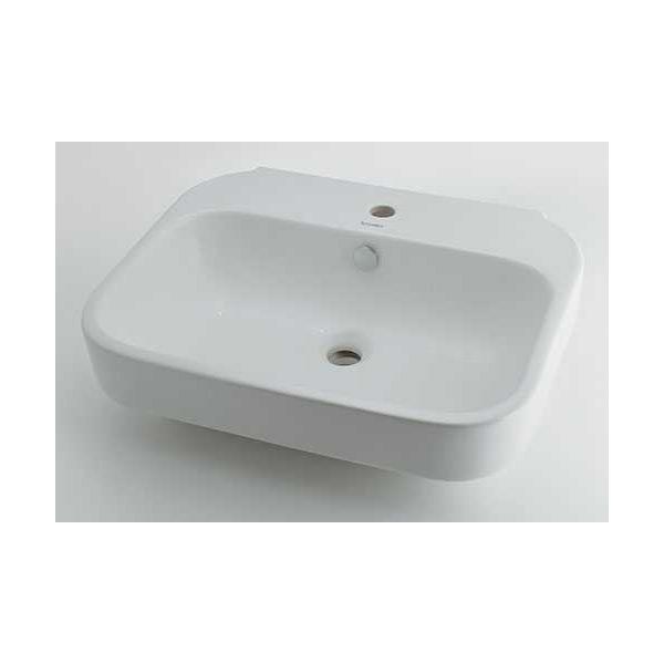 (送料無料(一部地域除く)・代引不可)カクダイ 壁掛洗面器 #DU-2316600000 (L)