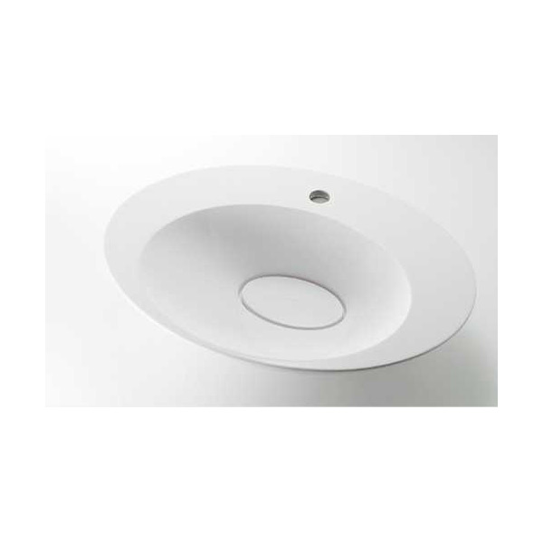 (送料無料(一部地域除く)・代引不可)カクダイ 丸型洗面器 #MR-493224 (L)