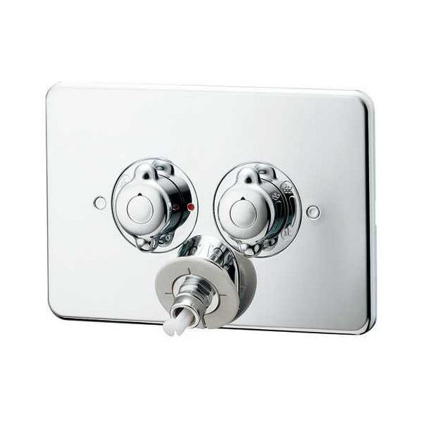 (代引不可)カクダイ 洗濯機用混合栓(立ち上がり配管用) 127-102K (A)
