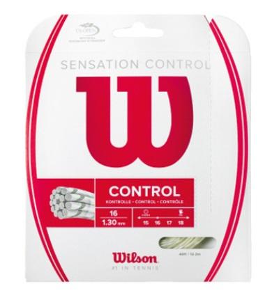 ウイルソンのロングセラーモデル テニス用ストリング テニス お買い得 バドミントン専門店プロショップヤマノ 上品 WILSON ウィルソン CONTROL30%OFFセール テニス用ストリングセンセーション WRZ941200 SENSATION コントロール