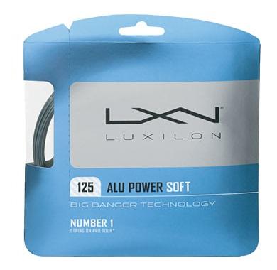 圧倒的なスピード 食いつくソフトフィーリング LUXIRON ルキシロン ☆最安値に挑戦 ALU POWER 125 ソフト125 WRZ990101 SOFT 30%OFFセール 超特価SALE開催 テニスガットアルパワー