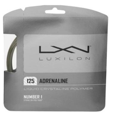 コストパフォーマンスが非常に高く 女性 ジュニアプレーヤーにも支持されている LUXIRON ルキシロン WRZ993800 大決算セール セール開催中最短即日発送 30%OFFセール テニスガットアドレナリン125 ADRENALINE125