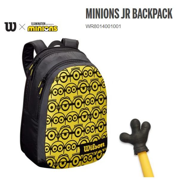 MINIONSデザインのジュニアバッグパック WILSON ウィルソン ランキングTOP10 MINIONS BACKPACKWR8014001001 JR 卓越