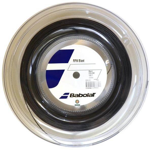 [テニス・バドミントン専門店プロショップヤマノ]バボラ Babolat 硬式テニス・ストリングスRPMブラスト 200m RPM BLAST 200m BA243101R