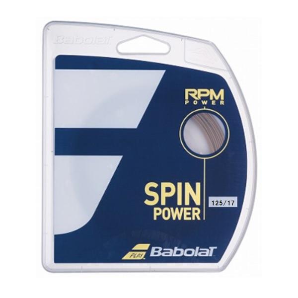 スピンパワーを極めた RPMパワー が新登場 バボラ 新作 Babolat 硬式テニス 130mmx12m RPM POWER ストリングスRPMパワー 本店 BA241139