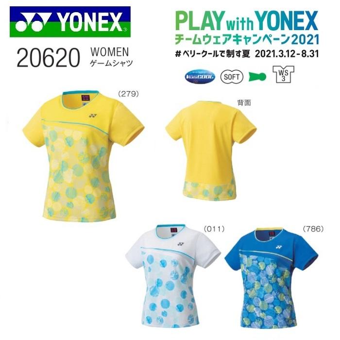 YONEX TEAM WEAR 5☆好評 CAMPAIGN テニス バドミントン チームウェア ゲームシャツ レディース ヨネックス WOMEN バドミントン用 20620テニス キャンペーン2021 新作入荷