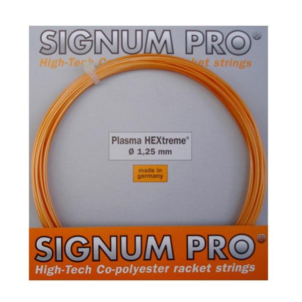 ポリプラズマのスピンタイプ シグナムプロ 硬式テニス用 ポリ ストリングプラズマ マート ヘキストリーム1.25mm HEXTREME 4013113100624 1.25mm30%OFF PLAZMA 付与 CODE JAN
