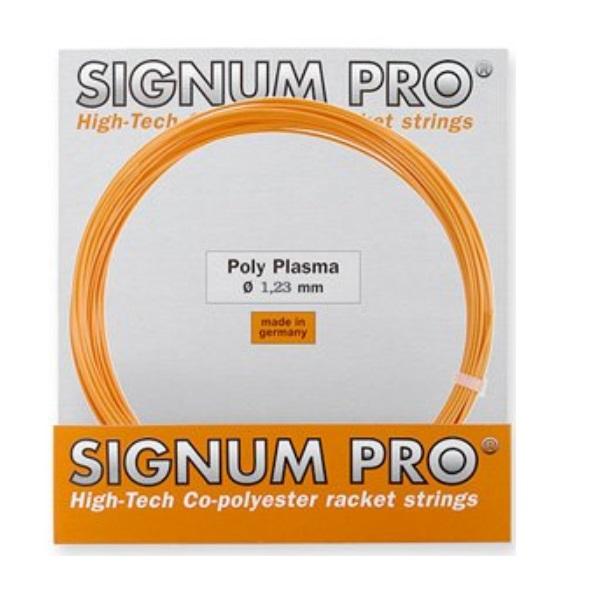 シグナムプロのフラッグシップモデルテンション持続性能 低振動性 敏感な反発力 シグナムプロ 硬式テニス用 送料無料 激安 お買い得 キ゛フト 即納最大半額 ポリ 4013113100488 JAN 1.23mm30%OFF polyplasma ストリングポリプラズマ1.23mm CODE