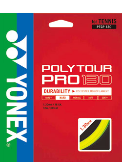 セール30%OFF 70%OFFアウトレット メール便なら国内送料250円 YONEX ヨネックス テニス 130 PRO POLYTOUR 毎日がバーゲンセール ストリングスポリツアープロ130 PTGP130