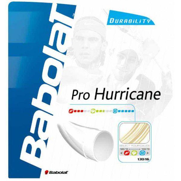 メール便なら国内送料250円 バボラ 激安通販 Babolat 硬式テニス HURRICANE 贈答品 ストリングスプロハリケーン BA241076 PRO