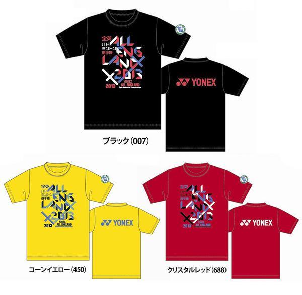 YONEX (Yonex) U.K. world championship 2013 memory-limited T-shirt UNI (uni-) dry T-shirt YOB13010